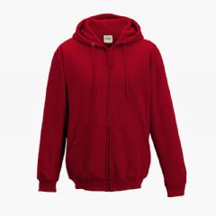 THURSO ASC FIRE RED KIDS ZOODIE WITH EMBROIDERED LOGO